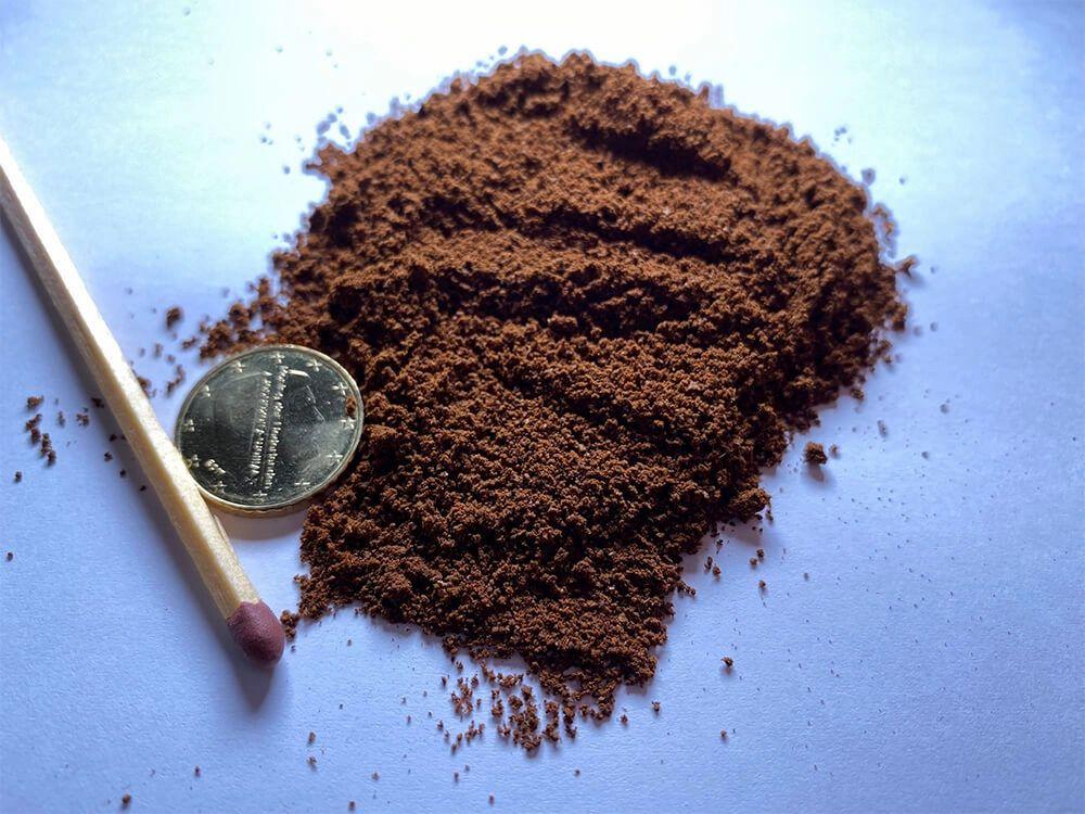 gemalen koffie voor espresso, onderdeel van hoe maak je een espresso